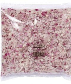 Shredded: Onion red  Fine Block 1000 g