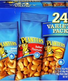 Nuts : Planters Mix